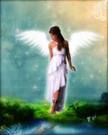 Dreamed Angel by JoGe23