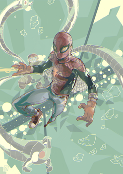Penniless Spiderman by daremaker