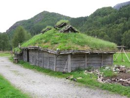 Traditional Viking House by EvilAndy