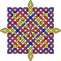 Star Cross Stitch Color Work by hypknotic