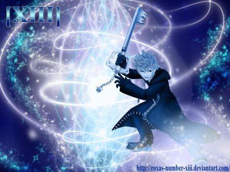 KH2 - Roxas Wallpaper ::V2:: by Roxas-Number-XIII
