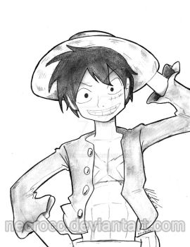 Poster : Luffy by NecroCC