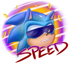 Dat Sonic Speed by RiotaiPrower