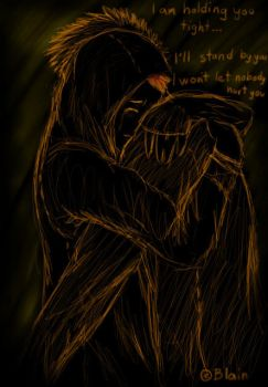 There was just an aching heart by Blainz