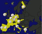 Euro Coin Map by TrevLafoe