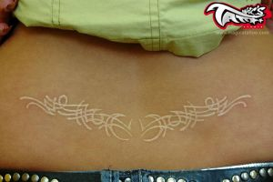 WHITE TATTOO TATTOOS by magicstattoostudio