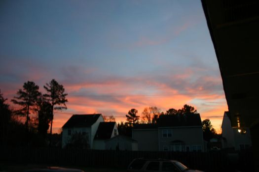 Sunset in Rock Hill, SC by Nittany-Tiger