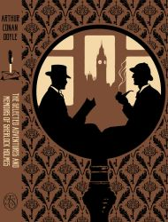 Sherlock Holmes ~ book cover by NatasaIlincic