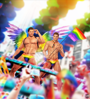 Nivanfield at Gay Pride by LitoPerezito