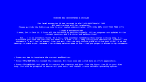 Windows Error by exarobibliologist