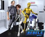 Keeping up with The Organas - (Rebels Fan Art) by Brian-Snook