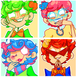 icons: what sweet lil darlings by crovvn