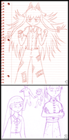 Some Old Touhou Sketches by Apkinesis