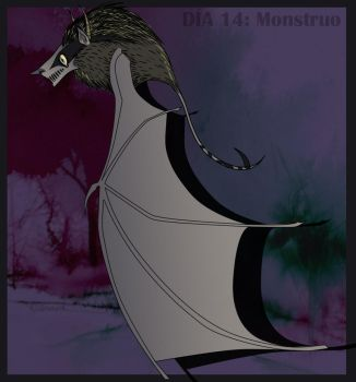 30DaysChallenge_14Monster by arger