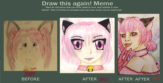Draw This Again - Mew Ichigo by CrimsonCreationsSFX