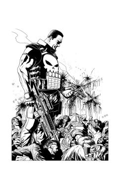 The Punisher by angryrooster