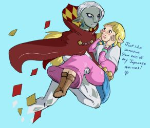 oh lord ghirahim oh by Paru-sa
