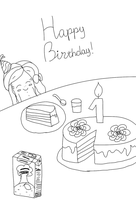 Happy birthday, Anastasia! by YuliaRabbid