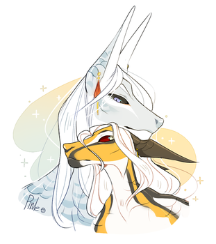 Silver and gold by PinLe