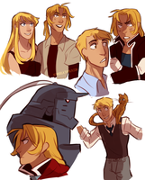 FMA characters part I by m-angela