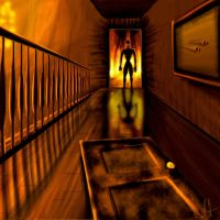 Hallway To Hell by CKHUNTER