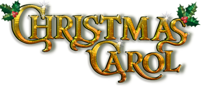 FREE TO USE Christmas Carol Logo Transparent by NatalieGuest