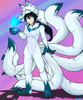 Definitely-Not-Ahri by RegalClaw