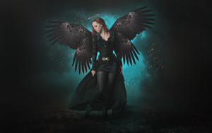 Dark Angel II by Ellysiumn