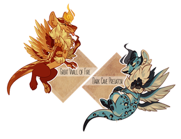 Opposing Dracokais Auctions [CLosed] by missDevichi