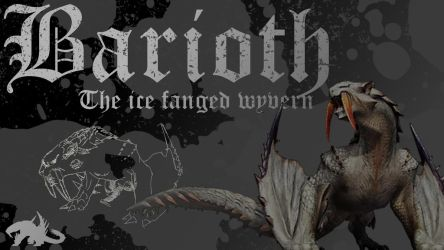 Barioth: The ice fanged wyvern by crash-fm