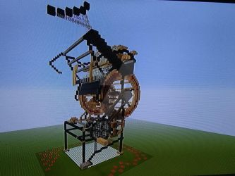 Minecraft - Marble Machine X 4 by Erik-the-Okapi