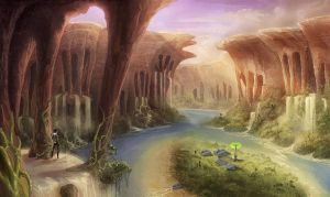 Valley by Panda-Graphics