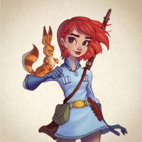 Nausicaa by ChrissieZullo