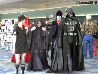 Emperor Palpatine and Darth Vader by Leena-A