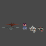 Mobile Suit Gundam Ship Pack 3 XNAlara Model Pack by Metalscourge18ZX
