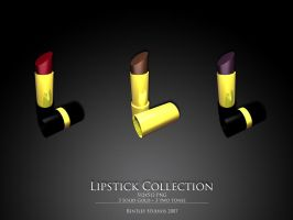 Lipstick Collection by thebigbentley