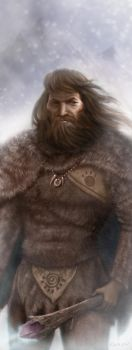 Cro Magnon King by Nyrak
