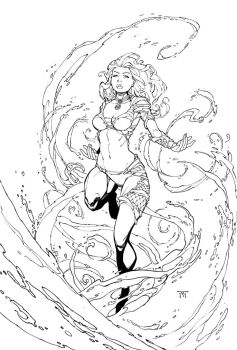 Cover for Fathom by RandyGreen