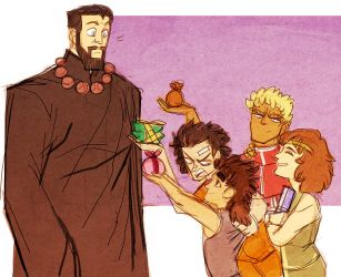 hokuto no ken - father's day by spoonybards