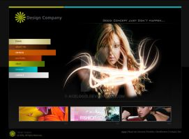 Design Company Site by acelogix