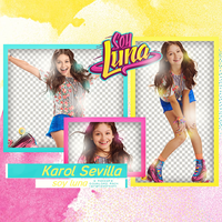 KAROL SEVILLA - Soy Luna Pack 01 HQ PNG PACK by AbouthRandyOrton