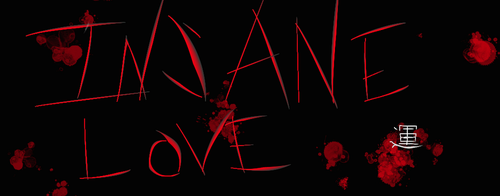 Story Title Cover: Insane Love by Azzuris00
