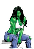 SHE-HULK BRAIDED by Dwid