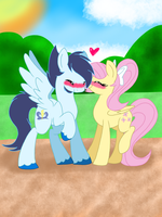SoarinShy:  Kiss on The Cheeks by Smileverse