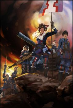 Valkyria Chronicles by w3etiki