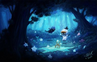 Starry Forest by BettyKwong