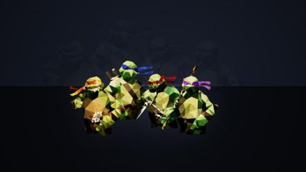 MyWallpaperNinjaMutantTurtle by juventino11