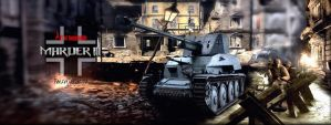 Marder III  Artwork Panorama by ArthusokD