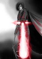 Kylo Ren (The Last Jedi) Sketch by alexjuandro