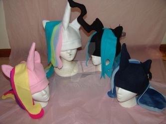 Alicorn Hat Collection by RegulusBlack
